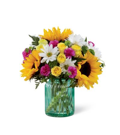 The FTD® Sunlit Meadows™ Bouquet 2015