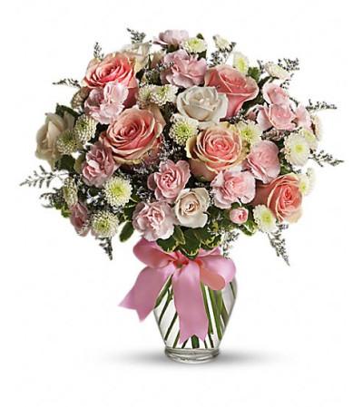 Teleflora's Cotton Candy Bouquet