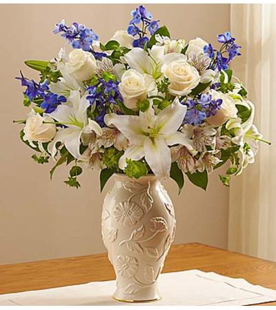 Loving Blooms in Lenox® Blue & White