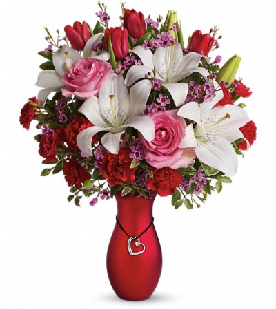 My Heart Is Yours Bouquet by Teleflora