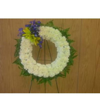 PEACEFUL FAREWELL Wreath