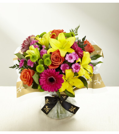 The FTD® Bold Beauty™ Hand-tied Bouquet