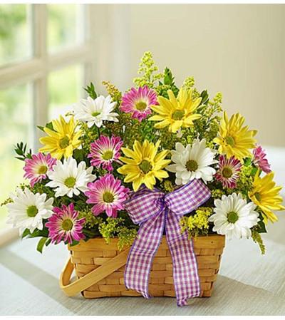 Springtime Wishes™ Basket