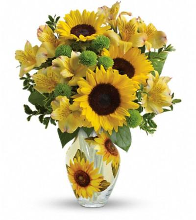 Teleflora's Soak Up The Sun Bouquet