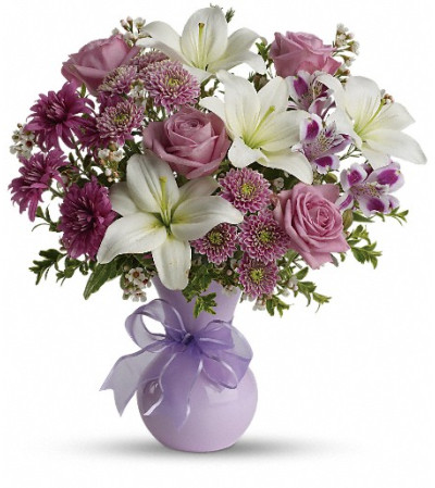 Teleflora's Precious in Purple