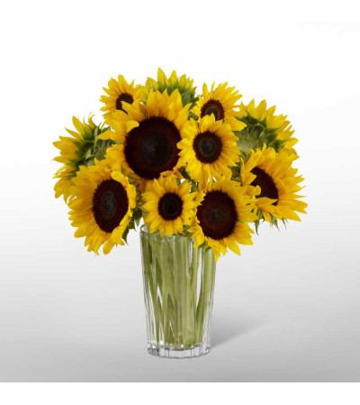 Golden Sunflower™ Bouquet by Vera Wang