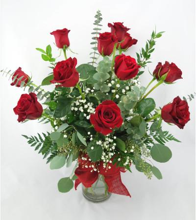 The Classic Dozen Roses