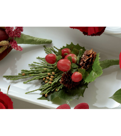 The FTD® Red Berry Boutonniere