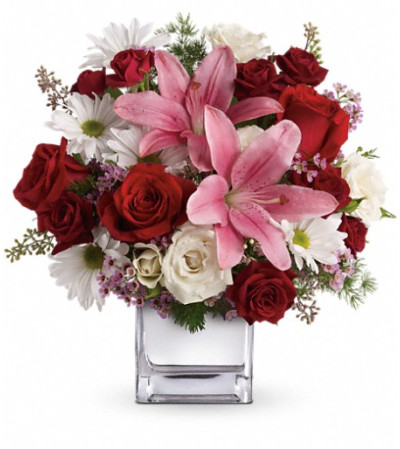 Teleflora's Happy in Love Bouquet