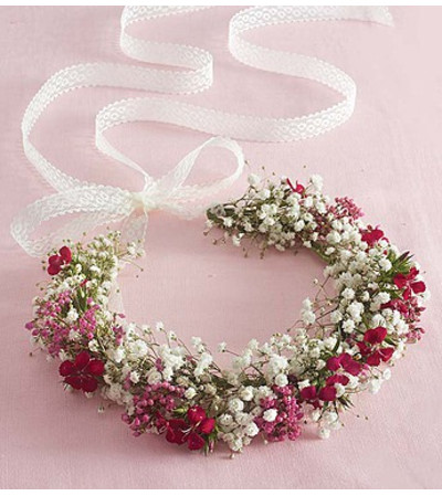 Fresh Flower Floral Crown