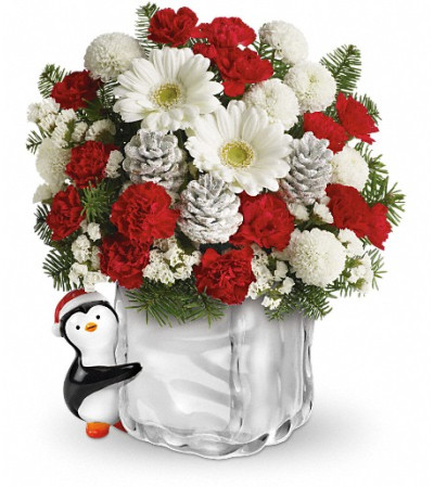 Teleflora's Merry Penguin Send a Hug