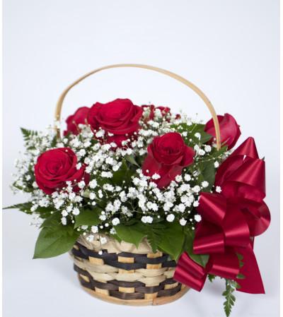 Rosey Basket