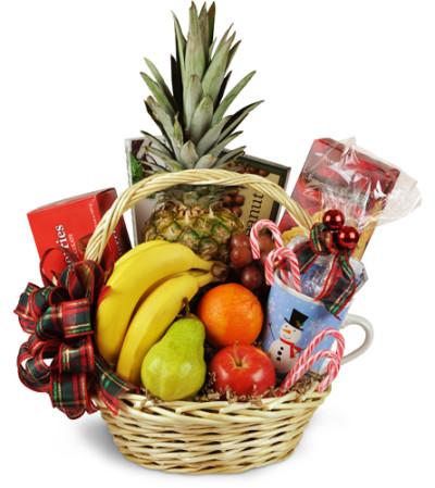 Bountiful Holiday Gift Basket