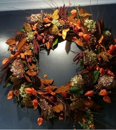 Autumn glory wreath