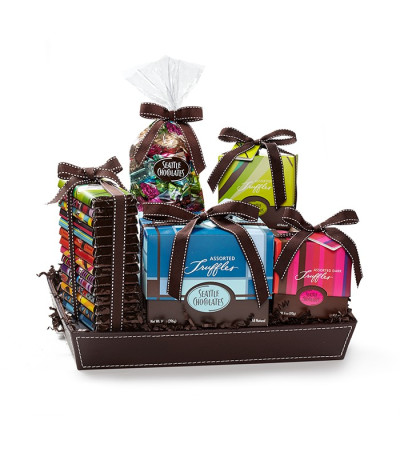 Seattle Chocolate Gift Basket