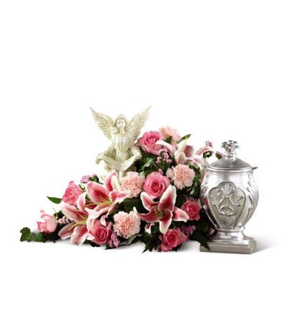 The FTD® Divinity™ Urn Arrangement