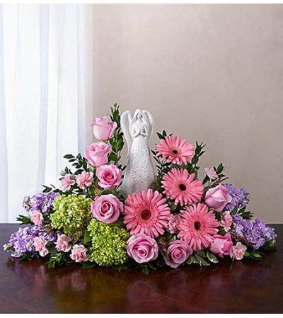 Serenity Angel Arrangement™ Pink and Purple