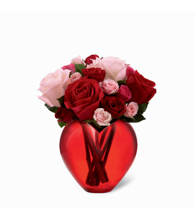 The FTD® My Heart to Yours™ Rose Bouquet 2015