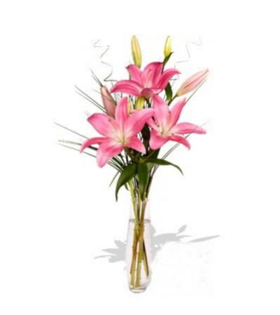 The La Tada Lily Bouquet