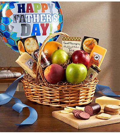 Fruit & Gourmet Basket for Dad