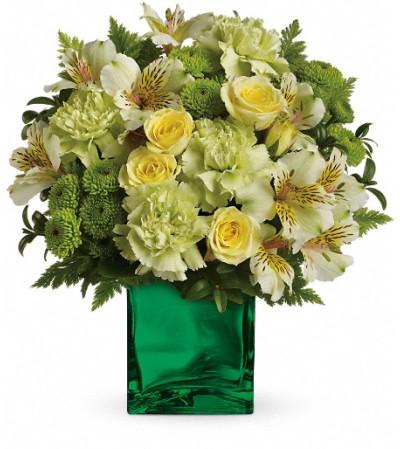 Teleflora's Emerald Elegance Bouquet