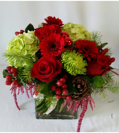 Gorgeous Red Christmas Bouquet