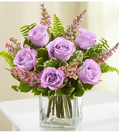 Love's Embrace Roses- Purple
