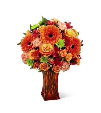 The FTD® Orange Escape Bouquet