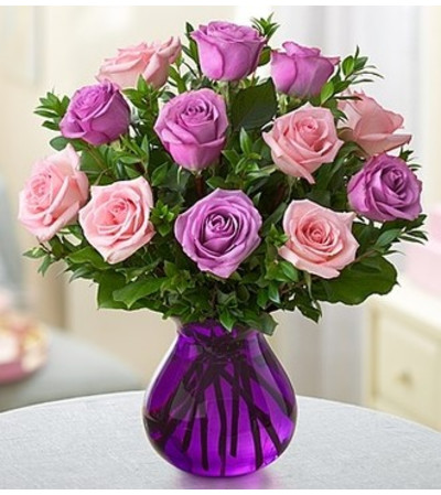 Rose Romance - Pink and Purple