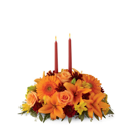 The FTD® Bright Autumn™ Centerpiece