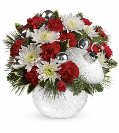 Teleflora's Snowball Surprise Bouquet