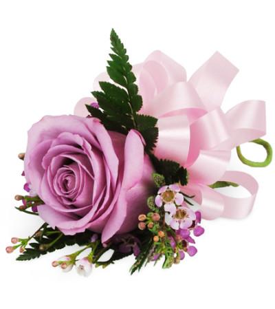 Lavender Rose Wrist Corsage