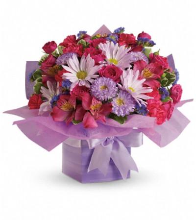 Teleflora's Lovely Lavender Present