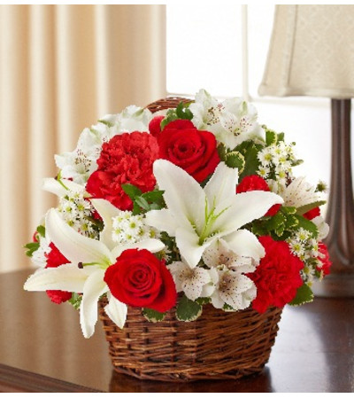 Peace, Prayers & Blessings - Red and White