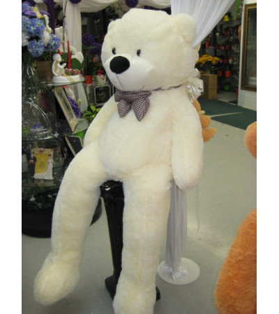 White Jumbo Teddy Bear
