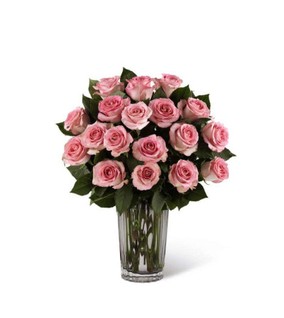 The FTD® Blush Rose Bouquet by Vera Wang