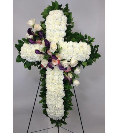 Premium Carnation Cross