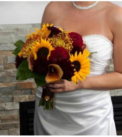 Fall Dahlia Bouquet