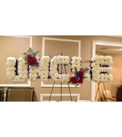 Floral Letter Designs
