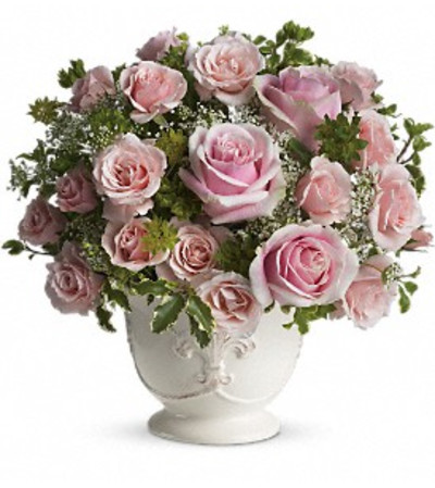 Parisian Pinks with Roses