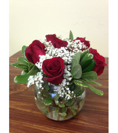 Roses in a bowl