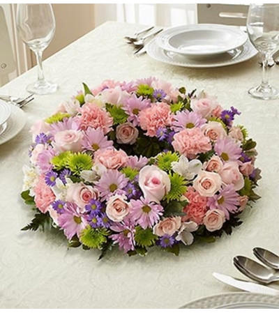 Multicolor Pastel Centerpiece