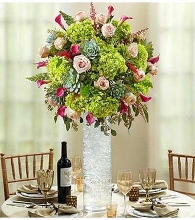 Vineyard Wedding Luxury Centerpiece
