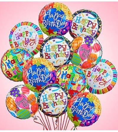 Air-Rangement® - Birthday Mylar Balloons