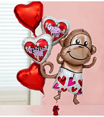 Crazy for You Balloon Bundle