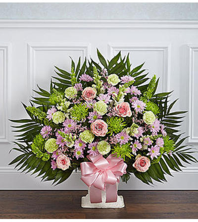 Heartfelt Tribute™ Floor Basket - Pastel