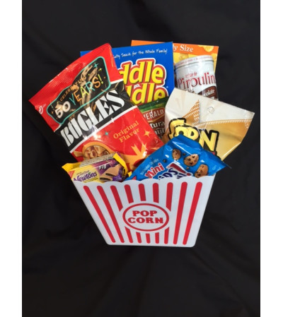 Movie Night Popcorn Bucket