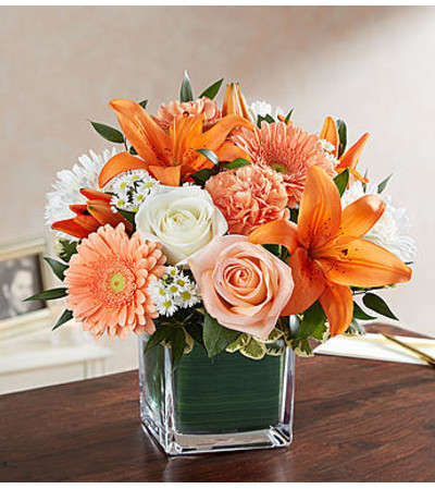 Healing Tears™ Peach Orange and White