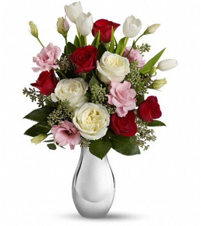 Teleflora's Love Forever Bouquet with Red Roses