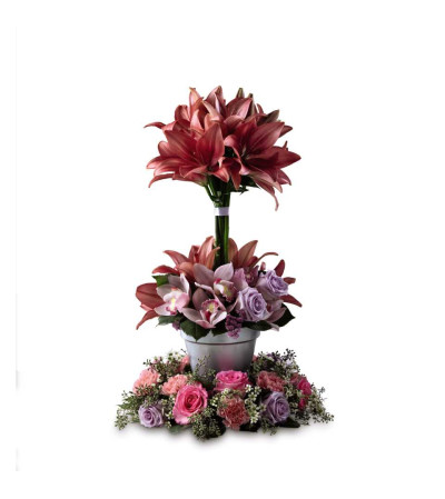 The FTD® Towering Beauty™ Arrangement
